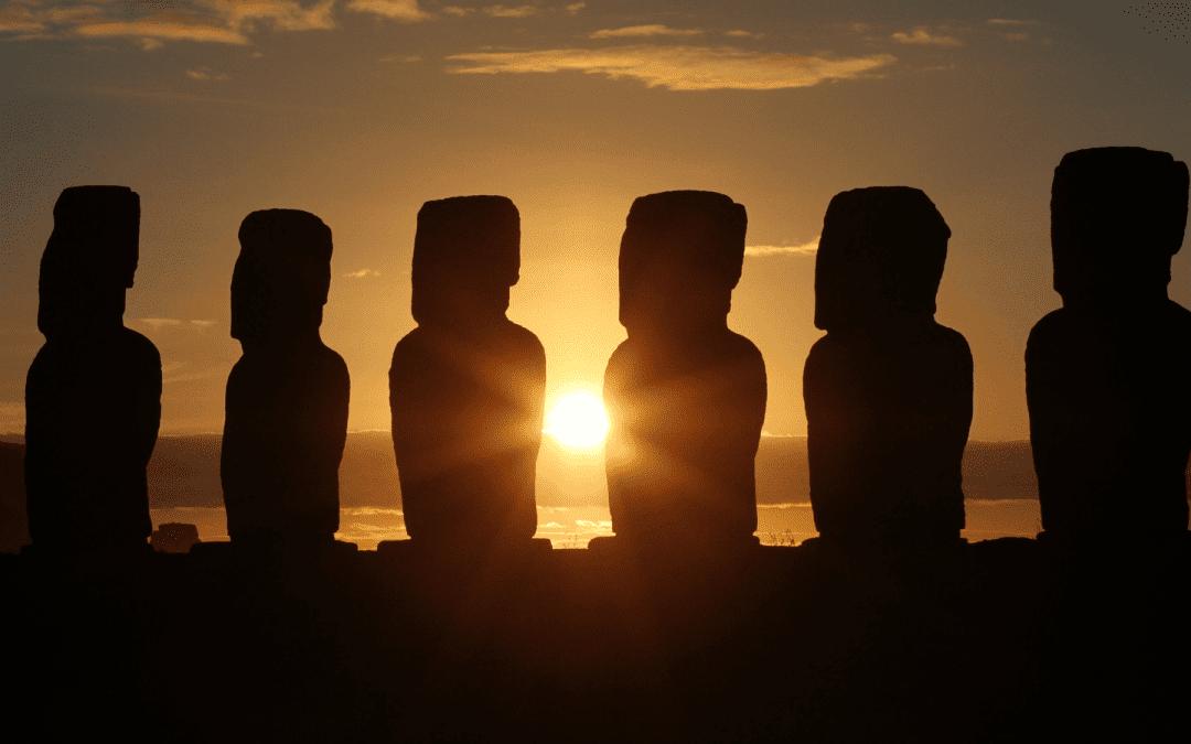 이스터 섬과 모아이 문명에서 찾아본 인류의 성장과 멸망 이야기