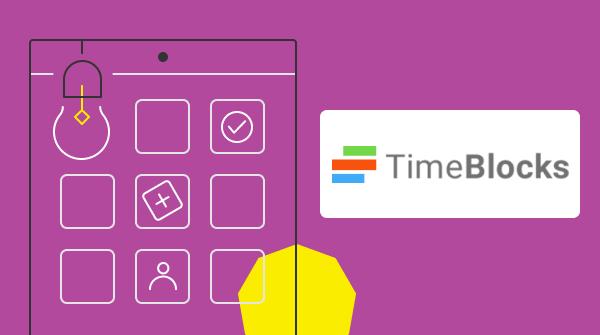 좋은 고객지원 매뉴얼 : timeblocks